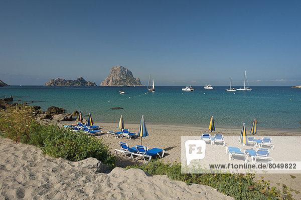 hinter  Strand  Insel  ES350  Ibiza  Spanien