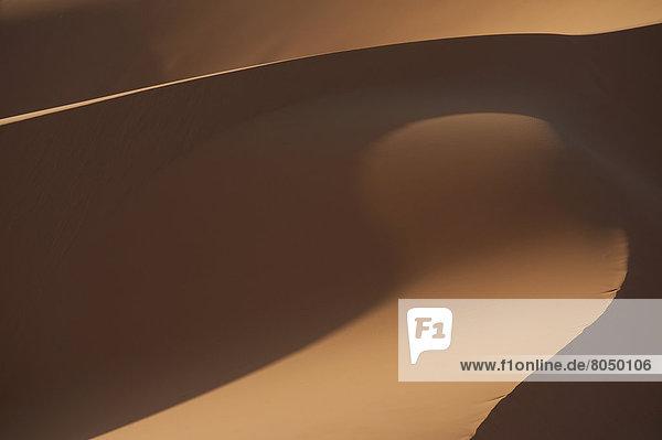 nahe  Detail  Details  Ausschnitt  Ausschnitte  Sand  Düne  Merzouga  Marokko