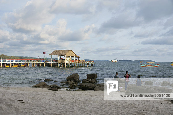 Kambodscha  Serendipity Beach  Sihanoukville