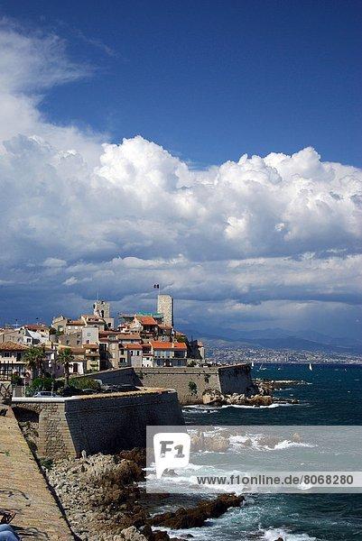Großstadt  Ansicht  Geographie  Alpes-Maritimes  Antibes  alt