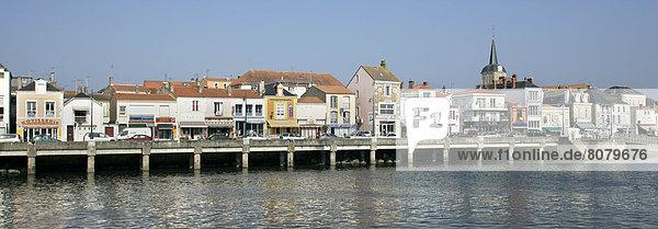 Hafen Tourist Kai Büro vorwärts Ortsteil