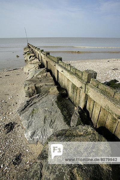 Wasser Fortbewegung Strand Gebäude begrenzen rauh fließen Störung Hydraulik bauen Schutz Sedimentgestein Retz