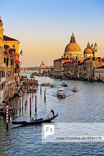 Europa  Erde  Ehrfurcht  Brücke  zuprosten  anstoßen  Academia  UNESCO-Welterbe  Venetien  Erbe  Italien  Venedig