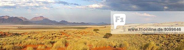 Panorama  Abend  baden  Beleuchtung  Licht  Landschaft  über  Ehrfurcht  Wüste  Ansicht  Namibia  Namib Naukluft Nationalpark  Namib  Reservat  Afrika