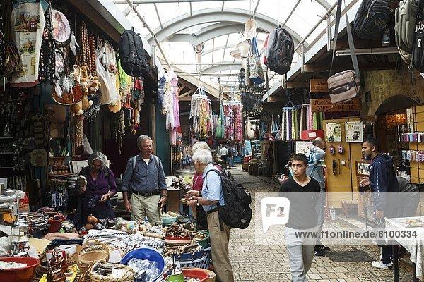 Großstadt  Naher Osten  Israel  Markt  alt