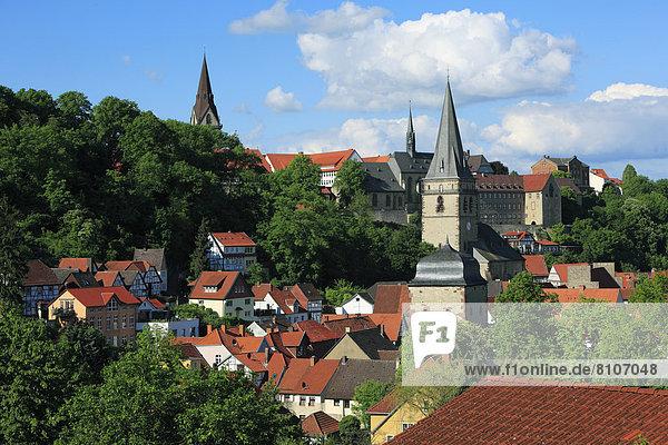 Stadtansicht von Warburg  Deutschland
