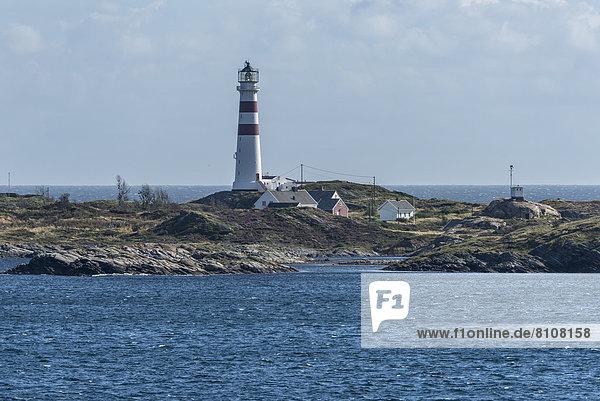 Norwegen  Leuchtturm an der Nordsee