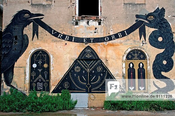 Barcelona  Katalonien  Graffiti  Spanien