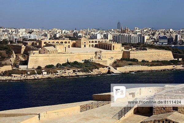 Malta  Marsamxett Harbour  Manoel Island  Sliema .