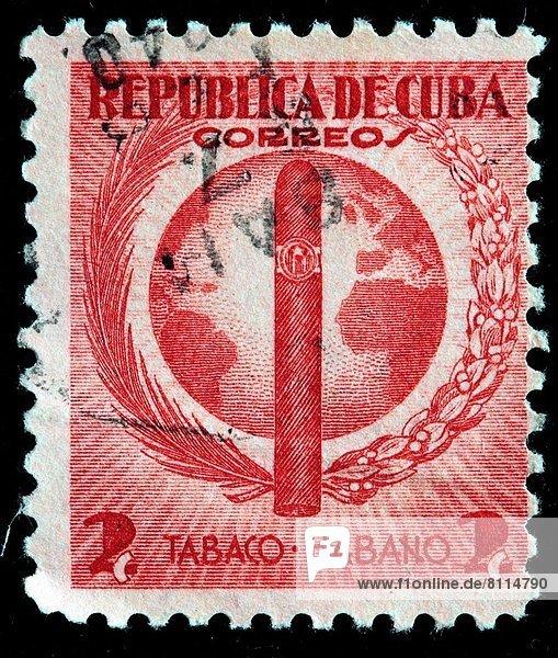 Kuba  Briefmarke