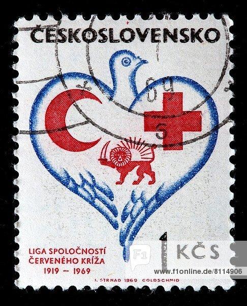 sechziger Jahre  Briefmarke