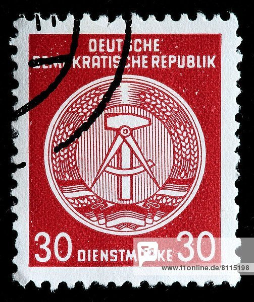 Wappen  Deutschland  Briefmarke
