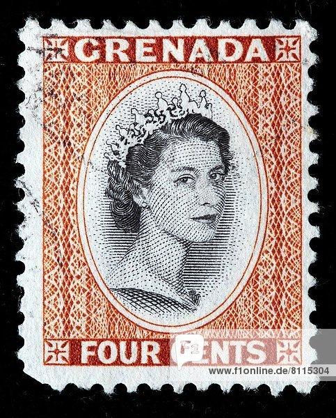 Grenada  Hauptstadt  Briefmarke
