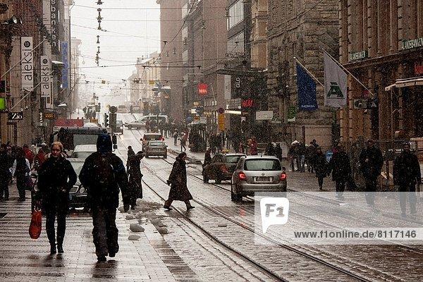 Helsinki  Hauptstadt  Finnland