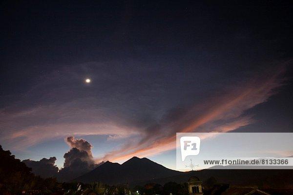 Sonnenuntergang  Guatemala