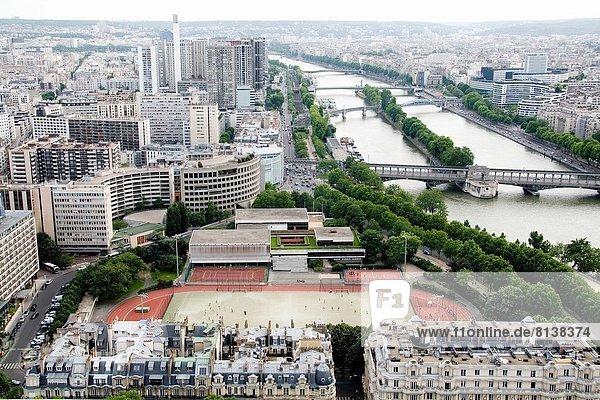 Paris Hauptstadt Feld Football