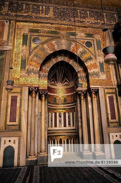 Kairo Hauptstadt Ägypten Sultan Hassan Moschee