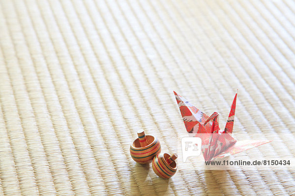 Kranich herumwirbeln Tatami Turmkran Matte Origami