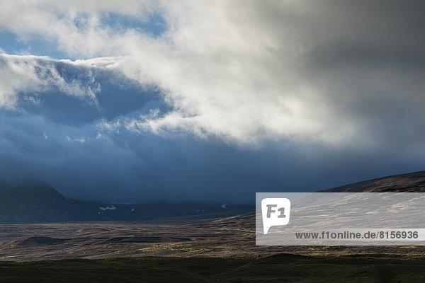 Großbritannien  Schottland  Blick auf den Cairngorms Nationalpark