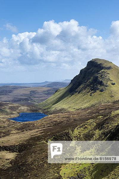 Vereinigtes Königreich  Schottland  Blick auf die Berge