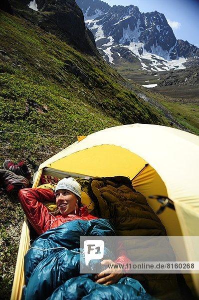 nahe  Rucksackurlaub  camping  Alaska  Anchorage