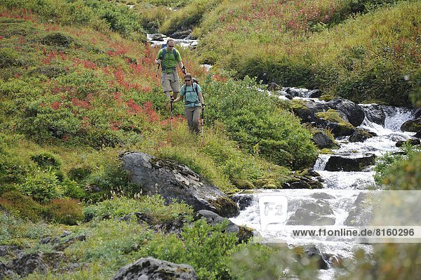 nahe  wandern  Backpacker  Alaska  Anchorage
