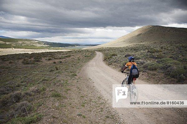 Berg  radfahren  Patagonien