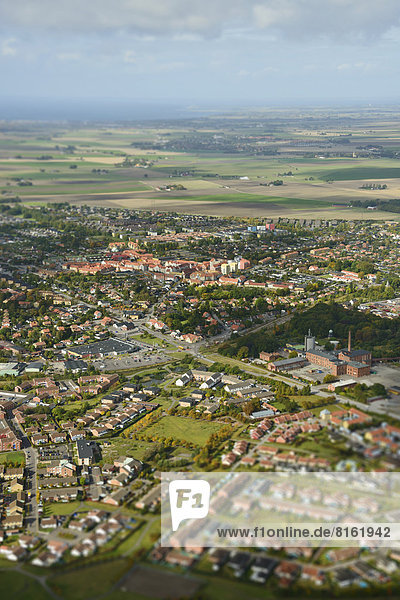 Aerial view of Lund