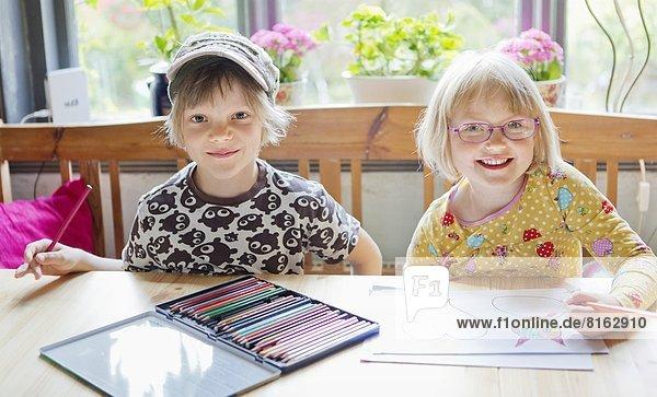 Junge - Person  Zeichnung  Mädchen