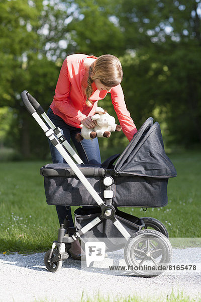 Kinderwagen  Mutter - Mensch