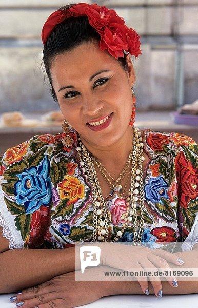 Mexiko  Kostüm - Faschingskostüm  typisch  Yucatan
