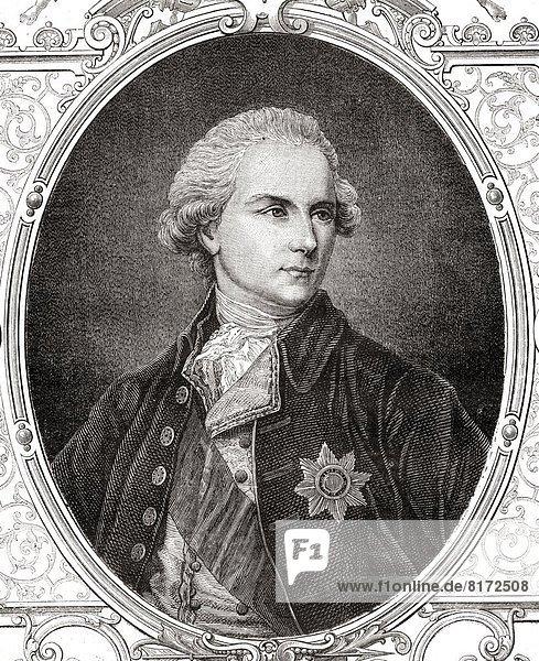 James Harris  1St Earl Of Malmesbury  1746-1820. English Diplomat. From Histoire De La Revolution Francaise By Louis Blanc