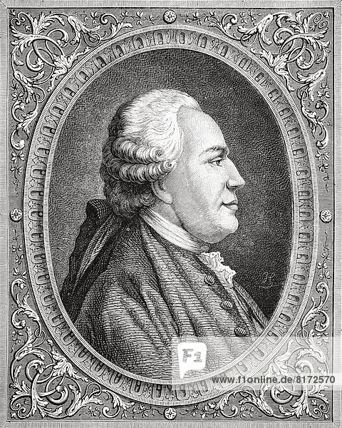 Franz Anton Mesmer  1734-1815. Viennese Psychiatrist Who Brought Forth The Theory Of Animal Magnetism. Engraved By Pannemaker-Ligny After Coffinaeu. From Histoire De La Revolution Francaise By Louis Blanc.