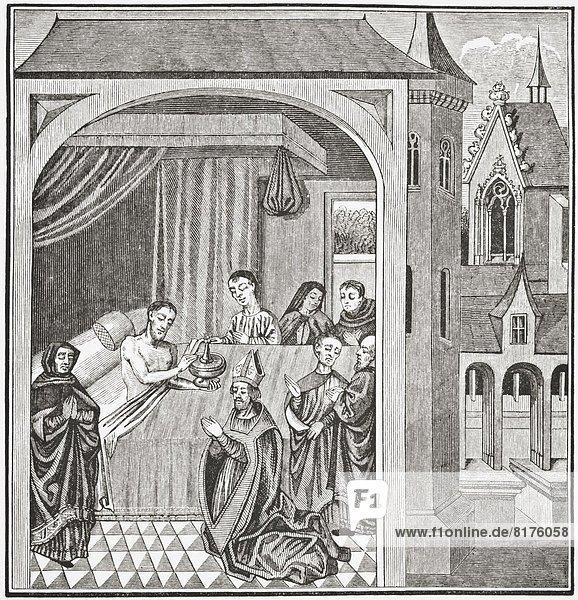 Modell  London  Hauptstadt  Geschichte  Heiligtum  Mittelpunkt  Jahrhundert  Tod  Literatur  Manuskript  Miniatur  Wissenschaft