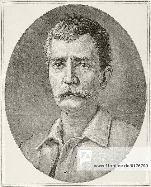 Sir Henry Morton Stanley  Born John Rowlands  1841 To 1904. Welsh Journalist And Explorer. From Afrika  Dets Opdagelse  Erobring Og Kolonisation  Published In Copenhagen  1901.