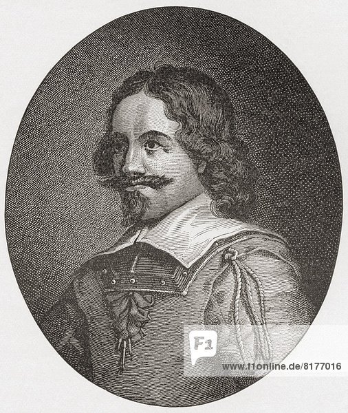 Alexander Leslie  1St Earl Of Leven  1582 To 1661. Scottish Soldier In Dutch  Swedish And Scottish Service. From The Book Short History Of The English People By J.R. Green Published London 1893.