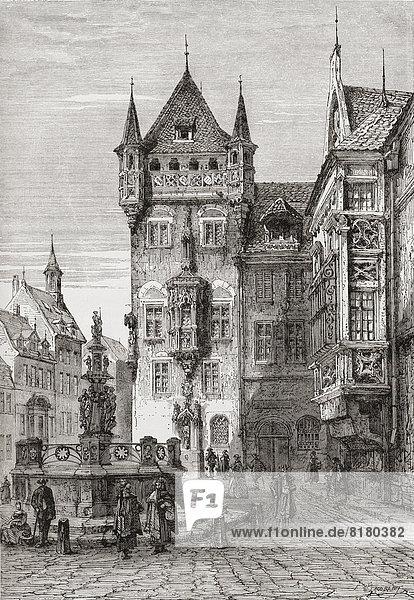 Gemälde Bild Bayern deutsch Nürnberg Gemälde,Bild,Bayern,deutsch,Nürnberg