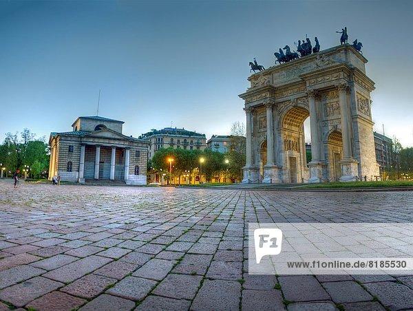 Italien  Lombardei  Mailand  Arco della Pace