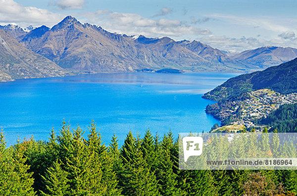 Lake Wakatipu  Queenstown  Südinsel  Neuseeland