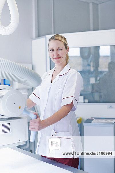 Portrait des Radiologen