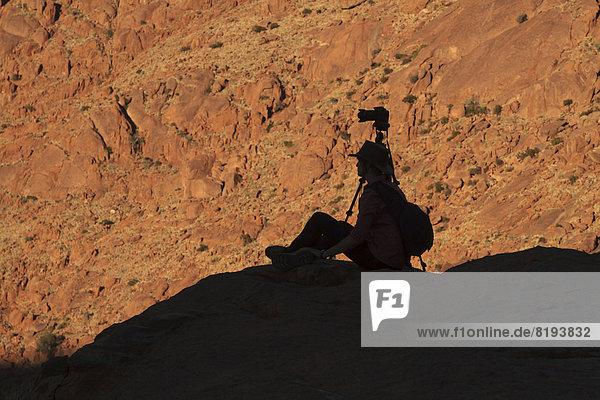 Fotograf in den Tirasbergen