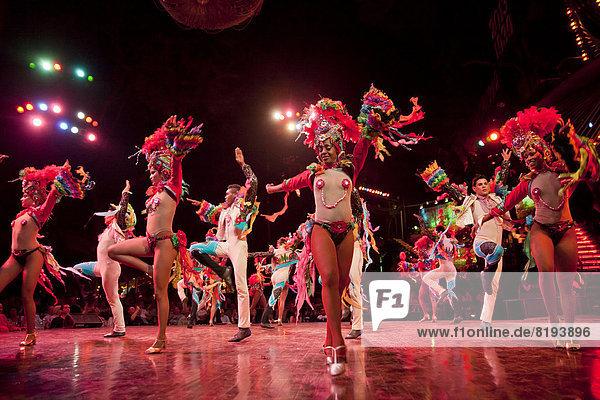 Dancers of the famous Tropicana nightclub