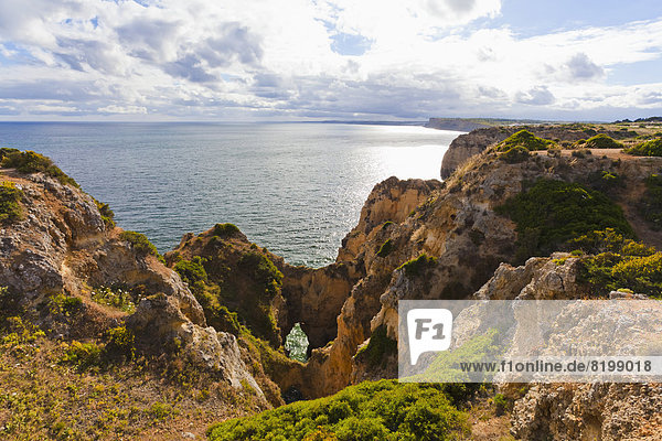Portugal  Lagos  View of Ponta da Piedade