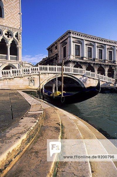 Dogenpalast  Italien  Venedig