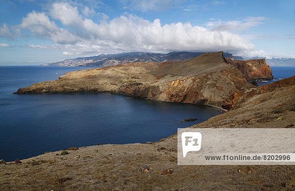 Sao Lourenco Madeira  Blickrichtung Funchal