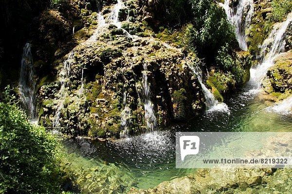 Wasserfall  Burgos  Leon  Spanien