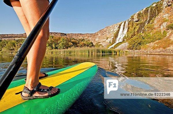 nahe  einsteigen  Quelle  fahren  Großstadt  Fluss  Paddel  Süden  Schlucht  Idaho
