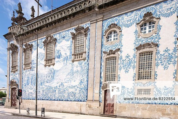 Außenaufnahme  Tradition  Kirche  blau  Kachel  Porto  Portugal Außenaufnahme ,Tradition ,Kirche ,blau ,Kachel ,Porto ,Portugal