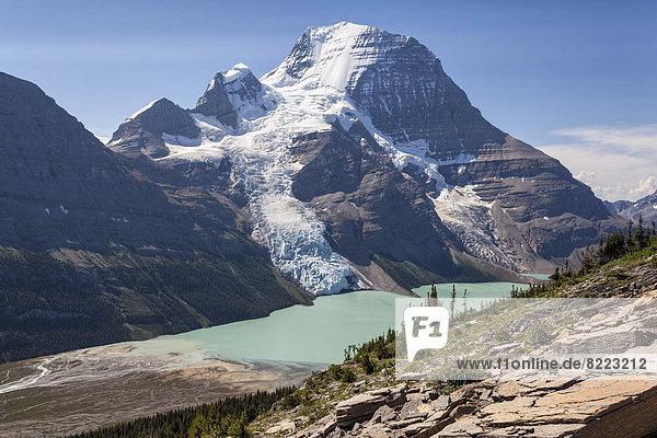 Mount Robson und Berg Lake