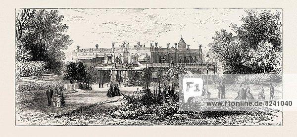 Edinburgh  Hauptstadt  Palast  Schloß  Schlösser  Krim  alt  Ukraine